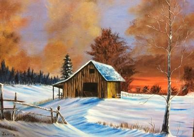 La grange abandonnée (Jeannita A.)